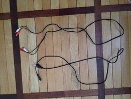 Аудио-кабель 3 RCA на 3 RCA (тюльпан