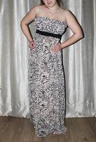 Шикарный шифоновый сарафан, платье в пол от бренда h&m