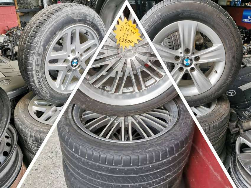BMW Mag Rims and Tyres for sale. 0