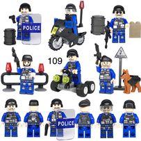 фигурки полицейских swat спецназ военные солдаты лего lego BrickArms