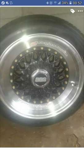 """fresh set of BBS 15"""" with tyres"""