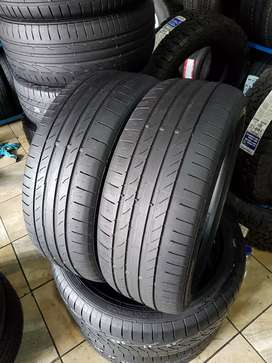 225/45/18 runflat continental tyres