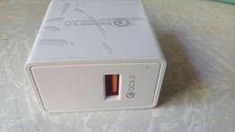 Сетевое однопортовое зарядное устройство Qualcomm QC3.0