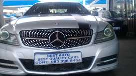 2013 Mercedes Benz C-250 Engine Capacity Cooper with Automatic Transmi