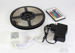 Светодиодная лента LED 3528 RGB Комплект 5 м.