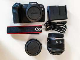 Canon EoS RP with Mount RF adapter and 35mm F1.8 Macro lens
