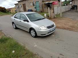 Toyota corolla 1.8 cockroach 2006model automatic
