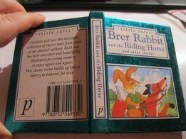 сказка книга английский кролик брер brer rabbit and the riding horse