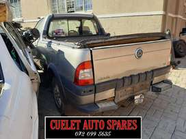 Fiat strad bakkie stripping for parts spares