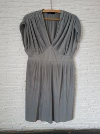 elegancka plisowana sukienka/tunika ciążowa VERO MODA r. 38/40