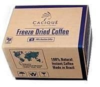 Кофе растворимый сублимированный Brasilia Cacique, 25 кг Бразилия