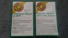 American History set - Barron's Study Keys EZ-101