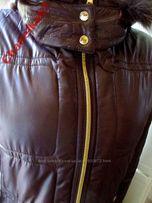 Куртка ENRICO COVERI p. М-L. Италия. Капюшон. Мех снимается. Зима.