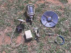Cadac gas lamp and cooker