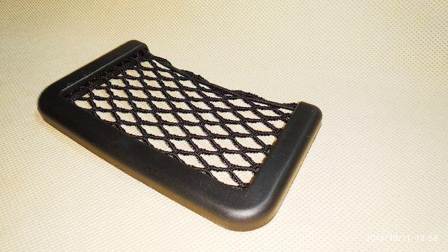 Авто сетка мини карман №2 держатель телефона GPS Черкассы - изображение 4