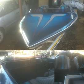 6seater 85hp family boat