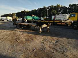 9.5M Single axle lowbed trailer