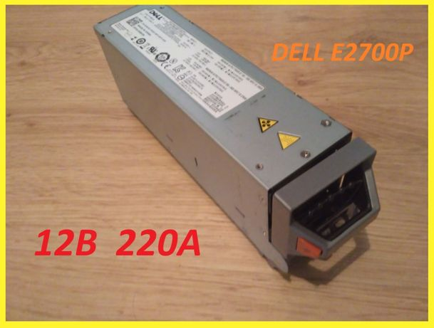 12V 220A (2700ват) Dell E2700P серверный блок питания 12вольт 220ампер