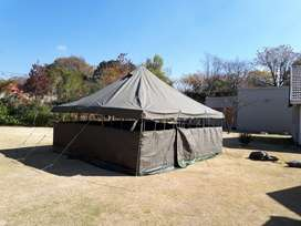 Open-air Army Tent