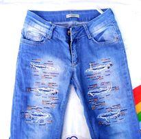 Узкие джинсы скинни на 10-12 лет