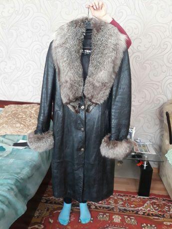 Пальто. Зима-осень. Кожа. Подстёжка-кролик Запорожье - изображение 8