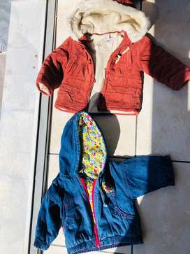 Baby jackets from 0 -4 yrs