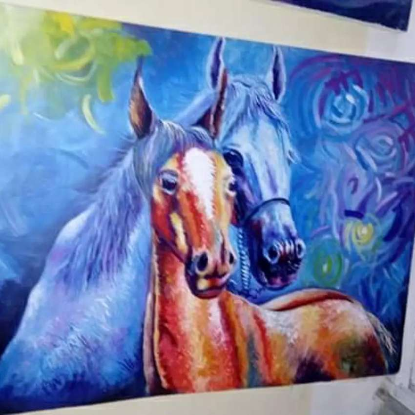 Oil on canvas painting 0