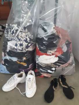 2 bags of clothing for sale