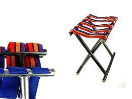 TABORET krzesełko składane paski mocne wędkarskie na pielgrzymkę NOWE