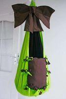 Huśtawka Fotel HAMAKOWY ręcznie robiona handmade
