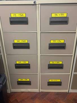 10 x BRAND NEW 4 DRAWER FILING CABINETS FOR SALE