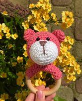 Іграшки ручна робота гризунець терміново продам ведмедик
