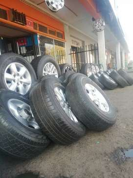 Tyres on affordable prices all sizes call if you are interested