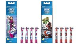 Насадки на детские электрические зубные щетки BRAUN ORAL-B Тачки