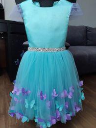 Платье на выпускной в садик 5-7 лет