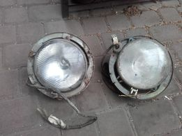 Syrena 105 lampy przednie reflektor reflektory 2 szt