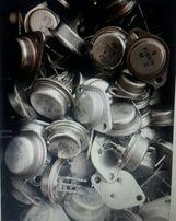 Транзисторы СССР КТ808гм, П210, П605 и др.