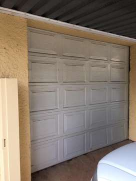 Automated single garage door for sale