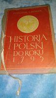 Historia Polski do roku 1795.H.Michnik,L.Mosler.