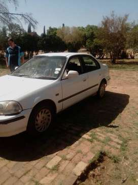 Honda white good condition