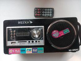 Радио usb aux SD/MMC