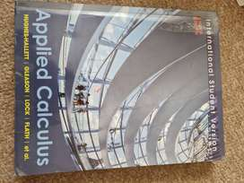 Applied calculus textbook
