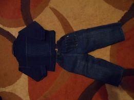 джинсовый костюм для мальчика