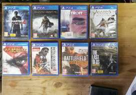 20 X PS4 GAMES - SWOP FOR PS3 OR TO THE VALUE OF 2000