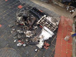 Головка от Mitsubishi Outlander,клапана,форсунки,натяжитель,колектор