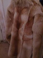 Полушубок мех лиса рыжая