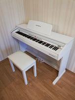 Почти новое цифровое пианино Kurzweil KA-130 WH, гарантия, ka130