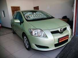 2009 TOYOTA AURIS 1.6 RT WITH ONLY 95401KMS