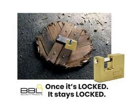 #BBLInsuranceLock - your lock of choice !