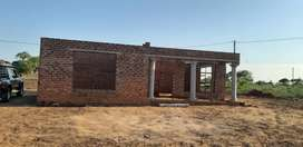 Stand with a 3 roomed house for sale